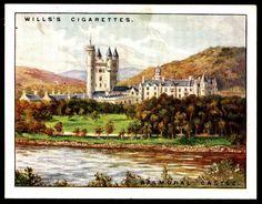Cigarette Card - Balmoral Castle