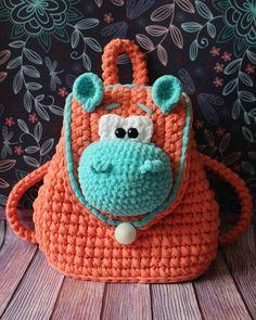Most current Free Crochet Bag children Tips Kinder Tasche häkeln Free Crochet Bag, Crochet Purses, Crochet Gifts, Crochet Toys, Knit Crochet, Tapestry Crochet, Knitting For Kids, Crochet For Kids, Crochet Children