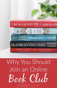 Why you should join an online book club. Books | Reading | Book Club | Community