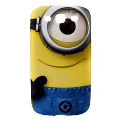 Despicable Me Minions Samsung Galaxy S3 S III hardshell Case | bestiphone5caseshop - Accessories on ArtFire