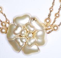 chanel necklace pearl - Google Search