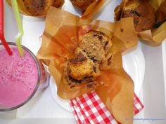 Magdalenas de chocolate Top Drawer, Chocolate Chip Muffins, Recipes