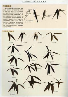 【楽天市場】日本画集 / 墨彩画集 / 俳画 / 参考本 [竹の描き方]:黄河文化店