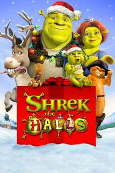Shrek the Halls (2007) | http://www.getgrandmovies.top/movies/20070-shrek-the-halls | The Christmas tree isn't the only thing green in this new holiday classic. Shrek is back and trying to get into the spirit of the season. After promising Fiona and the kids a Christmas they'll remember, he is forced to take a crash course in the holiday. But just when he thinks he has everything for their quiet family Christmas just right, there is a knock at the door.