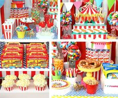 Planning a circus party? Kara's Party Ideas has some Yummy Greatest Showman Party Food Ideas to help you get creative when it comes to feeding your guests! Carnival Party Foods, Circus Theme Party, Party Food Themes, Carnival Birthday Parties, Birthday Party Themes, Circus Wedding, Carnival Games, Carnival Costumes, Party Games