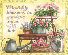Lang May 2014 wallpaper: Abundant Friendship