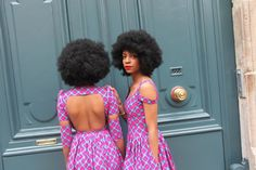 "Natacha Baco new Collection ""Muse"". Ankara. Wax Print. Kitenge. West African Fabric. African Prints in Fashion."
