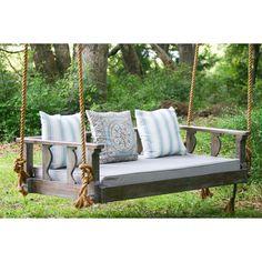 Vintage Porch Swings Peninsula Avari Swing Bed - AVARI-PET-BARNWD