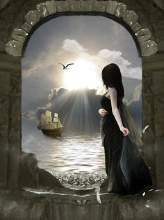 """""""Don't ever give up on waiting for your ship to come in.""""    Jasmeine Moonsong"""