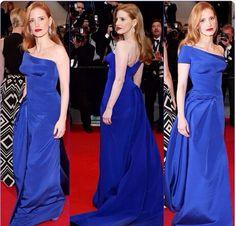 Jessica in Atelier Versace. Red Carpet