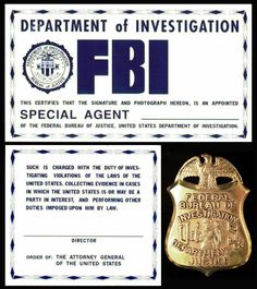 F.B.I. ID from The X-Files - Template 1 by Juan8T88 on deviantART