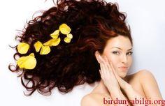 Mis gibi kokan saçlar için doğal tarif