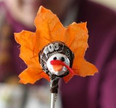 Shabby Chicks. . .happy little things: talking about Fall, Turkeys, Mummys,Pinecones and Chocolate:)