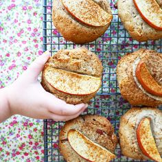 apple coconut & buckwheat breakfast cookies