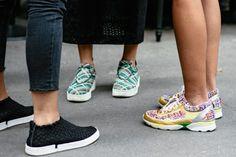 Chanel- en Céline-sneakers tijdens Milan Fashion Week - Mamma Mia!  - Street Chic - Fashion