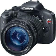 Canon EOS Rebel T2i 18 MP CMOS APS-C Sensor DIGIC 4 Image Processor Full-HD Movie Mode Digital SLR Camera and...