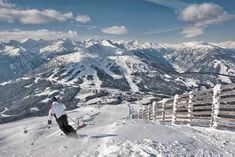 The high Alpine resort of Katschberg proves perfect for a family of mixed abilities, and December's lantern-lit advent trail leaves everyone feeling festive Berg, The Guardian, Mount Everest, Skiing, Trail, Mountains, Christmas, Ski Trips, Summer Vacations