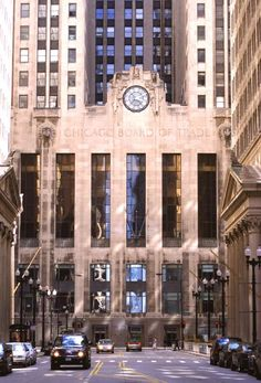 Chicago Board Of Trade. Stop in. This is something to see when the floor is open. It buzzes.