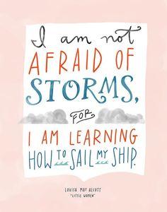 -Louisa May Alcott, Little Women.