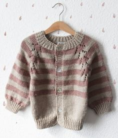 Cardigan for children for 3/4 years. Handmade by MIOkids on Etsy