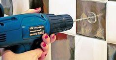 Trucos para taladrar un azulejo de cocina sin miedo