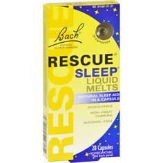 Shop the best Rescue Sleep Liquid Melts by Bach Flower Essences products at Swanson Health Products. Trusted since we offer trusted quality and great value on Rescue Sleep Liquid Melts by Bach Flower Essences products. Sleep Apnea Remedies, Insomnia Remedies, Natural Sleep Remedies, Natural Sleep Aids, Snoring Remedies, Homeopathic Remedies, Circadian Rhythm Sleep Disorder, Natural Sleeping Pills, Insomnia Causes