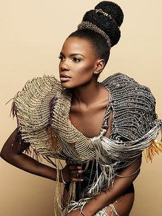 Shingai Shoniwa for L'Oréal Mizani: How to copy her amazing hair