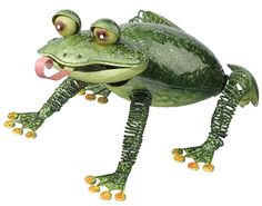 Regal Art and Gift Bullfrog Decor => You can get more details here : Home Decor Sculptures