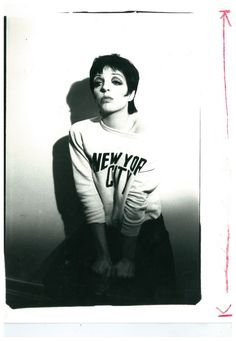 Liza Minnelli by Warhol Andy Warhol, Judy Garland Liza Minnelli, White Photography, Portrait Photography, Pulp Fiction, Film, Poses, Old Hollywood, Marie