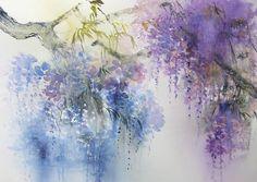 REINE MARIE PINCHON....aquarelle
