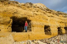 See the incredible Port Willunga Caves in Adelaide, South Australia Terra Australis, South Australia, Caves, Discovery, Mount Rushmore, Natural Beauty, Places To Visit, The Incredibles, Mountains
