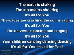 Not To Us (worship video w/ lyrics)