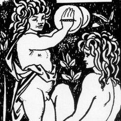 Aubrey Beardsley - Chapter-heading for Le Morte Darthur