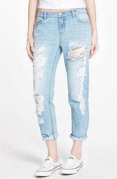 Generra Boyfriend Jeans (Blue) available at #Nordstrom