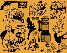 vintage retro cartoons | Retro_cartoon