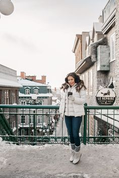 Winter Getaway to Quebec City | winter looks | layering | cold weather looks | cold weather fashion | winter fashion || Olivia Jeanette #coldweatherlooks #layering