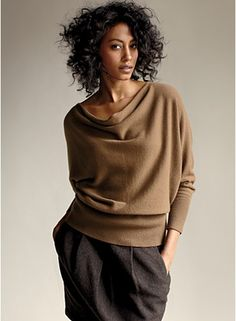 Eileen Fisher  http://www.eileenfisher.com/EileenFisher/Shop_Outfits/Sartorial_Slouch/2.jsp