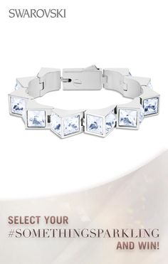 Why not select our Zaldy for Atelier Swarovski Cleo bracelet as the perfect something blue. Enter to win great Swarovski wedding sparkle https://www.facebook.com/SWAROVSKI.global/app_1416019598619377?ref=ts