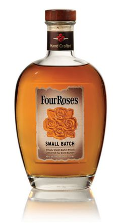 """Name: Four Roses Small Batch Producer: Four Roses Distillery Origin: Lawrenceburg, Kentucky Alcohol by Volume: 45 Percent Price: $30 """"This blended bourbon starts smooth and sweet, with sarsaparilla and maple sugar, then explodes with bold cassia, cinnamon, and cayenne razzle-dazzle."""""""
