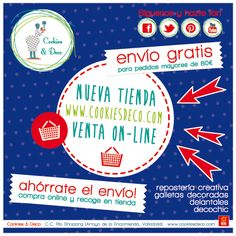 Tienda online: www.cookiesdeco.com #reposteriacreativa #deco #vintage #retro