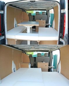 Gut bekannt Nissan unveils a mobile office in a VAN | Nissan and Van life SG34