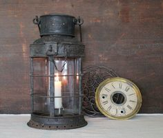 antique candle lantern - Google Search