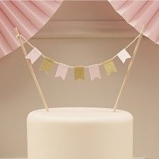 Pastel Perfection Cake Topper