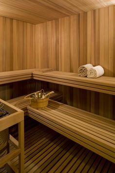 Sauna - transitional - Bathroom - Other Metro - Forum Phi - Architecture Transitional Home Decor, Transitional Living Rooms, Transitional Lighting, Transitional Kitchen, Transitional Style, Bathroom Renovation Cost, Sauna Design, Sauna Room, Home Decor Styles