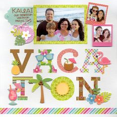 Doodlebug Design Inc Blog: Spring 2016 Fun in the Sun Collection Scrapbook…
