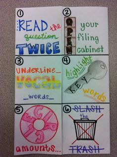 Love this test strategies foldable!