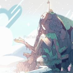 """""""Steven Universe, Temple"""" by FoxTail-Arts987 on redbubble.com"""