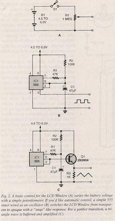 555 Circuits Electronics Mini Projects, Electronic Circuit Projects, Electronics Basics, Cool Electronics, Power Engineering, Computer Engineering, Electrical Engineering, Ldr Circuit, Electronic Schematics