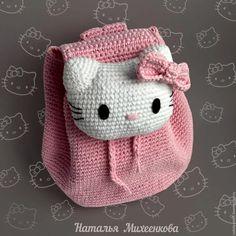 Image gallery – Page 450008187763789898 – Artofit Crochet Kawaii, Crochet Bows, Crochet Motifs, Crochet Purses, Crochet Gifts, Cute Crochet, Crochet For Kids, Crochet Patterns, Crochet Backpack