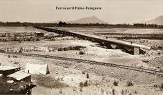 Imágenes de Chile del 1900: Pirque, Maipo, Paine Puerto Natales, San Bernardo, Abandoned Houses, Railroad Tracks, Train, Social Stories, Easter Island, Abandoned Homes, Strollers